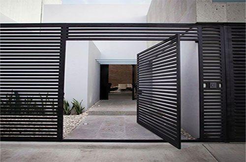 opções para portões residenciais modernos