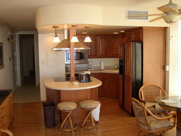 cozinha integrada com ambientes