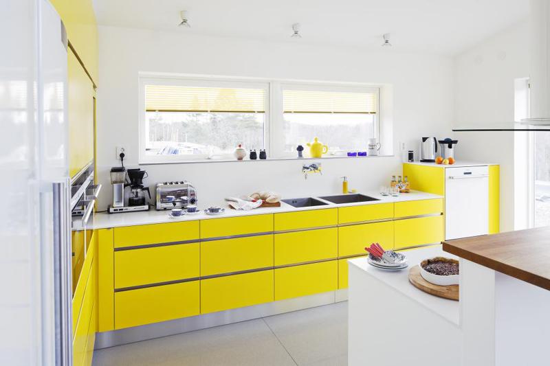 cozinha planejada longa