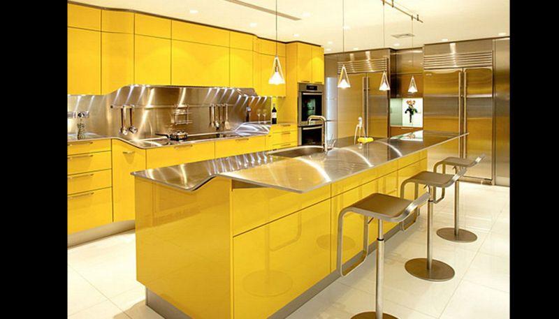 cozinha planejada com banco