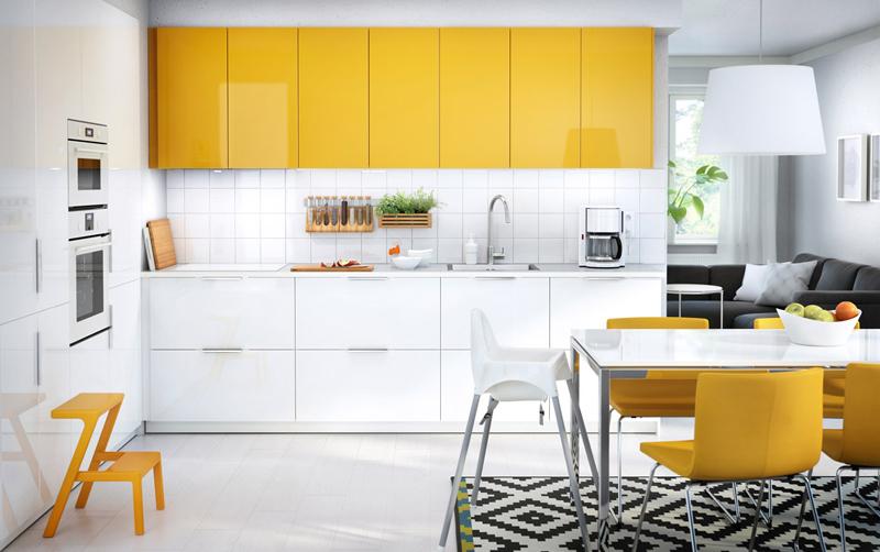 tapete étnico na cozinha planejada