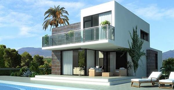 fachada de casa com mix de materiais