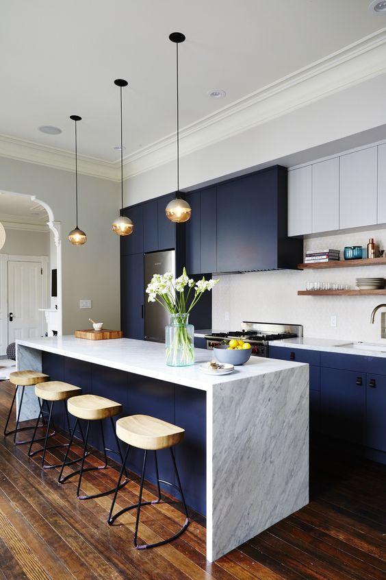 cozinha com marmore