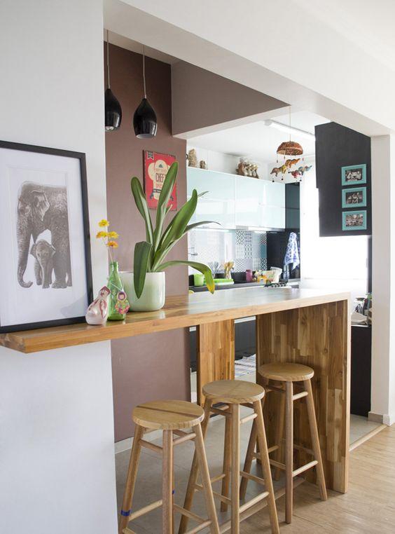 cozinha com decoração diferente