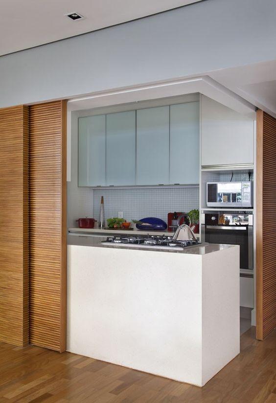 cozinha com vidro