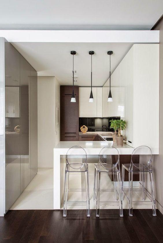 cozinha com transparencia