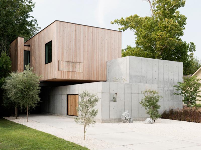 casa linda futurista em bloco