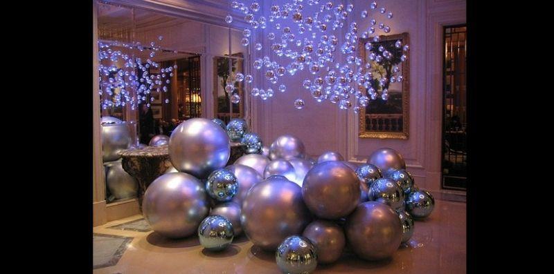decoração natalina moderna
