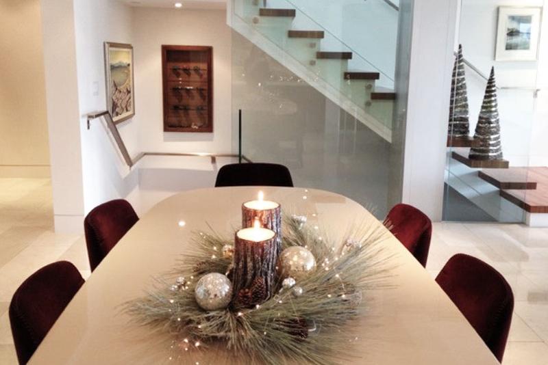 decoração natalina simples