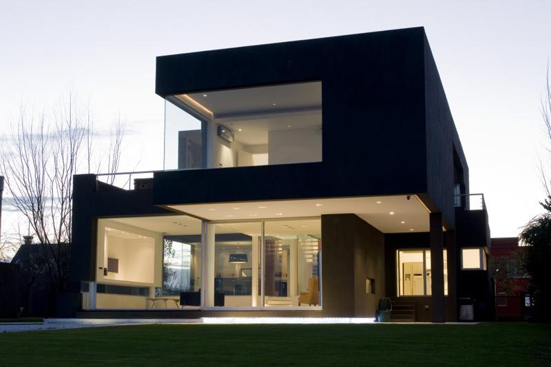 casa linda preta
