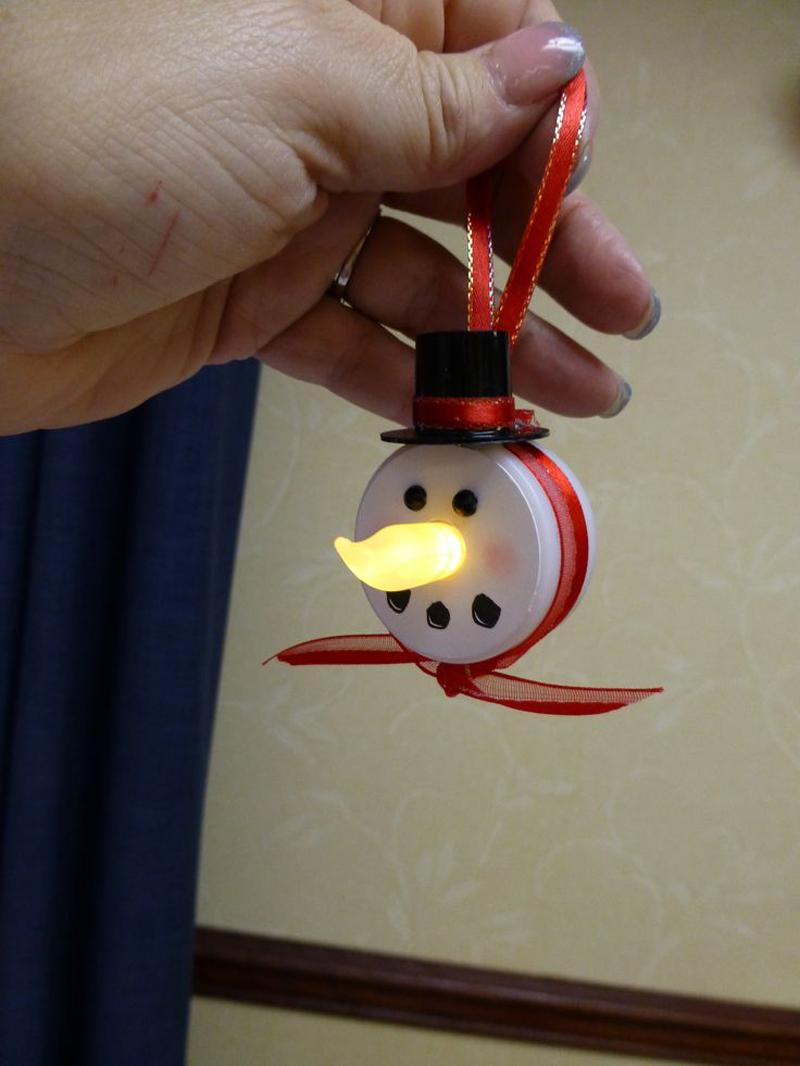 decoração natalina com led