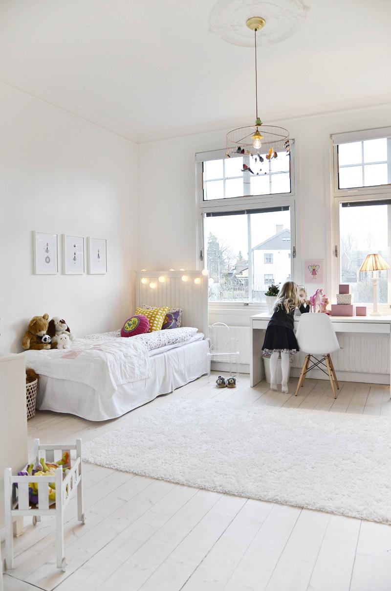 quarto infantil branco