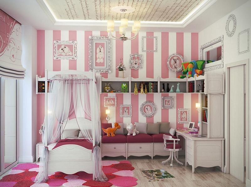 quarto infantil listrado