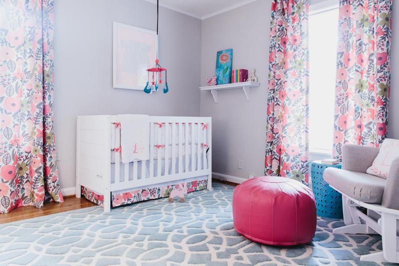 quarto infantil com cortina