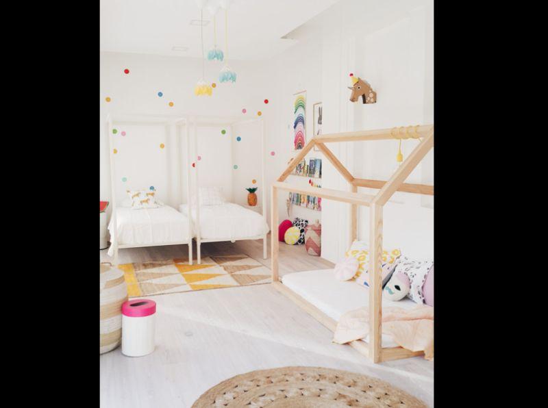 quarto infantil para gemeas
