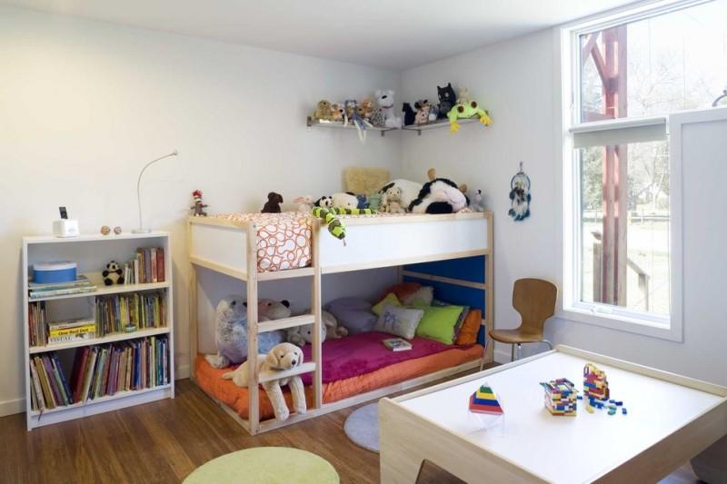 quarto infantil com madeira
