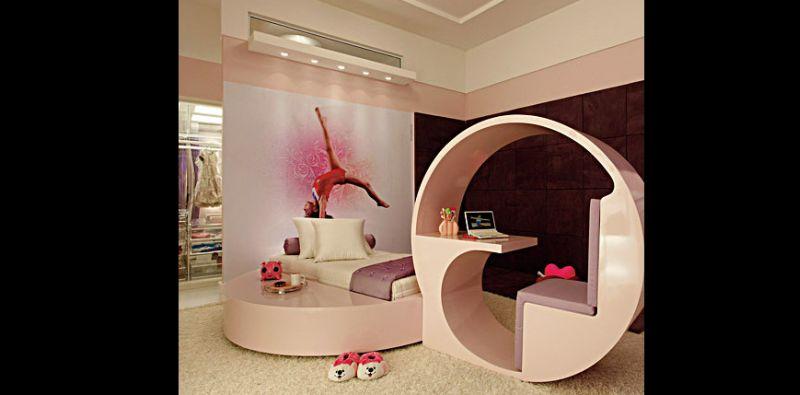 quarto infantil futurista