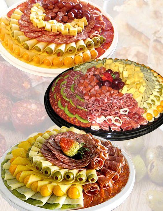 mesa de frios redonda