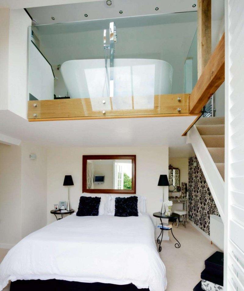 varanda interna com banheira
