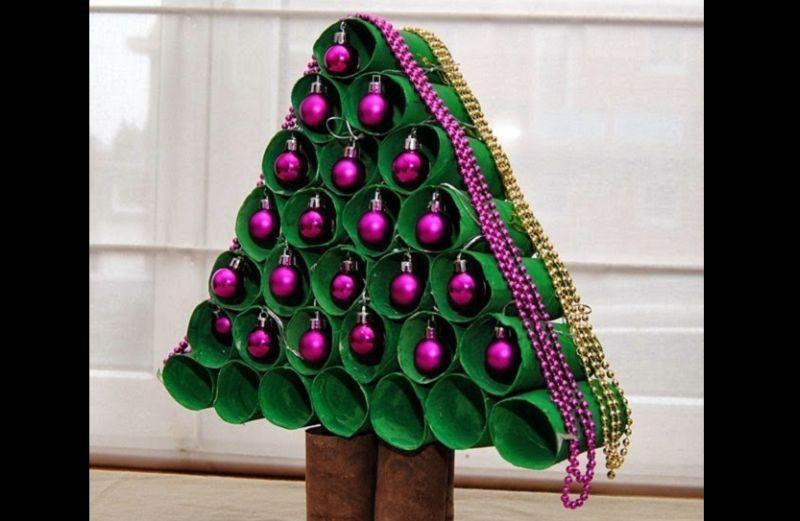 pinheiro natalino reciclado