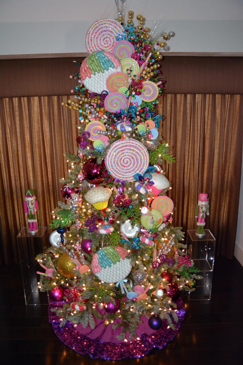 pinheiro natalino docinhos