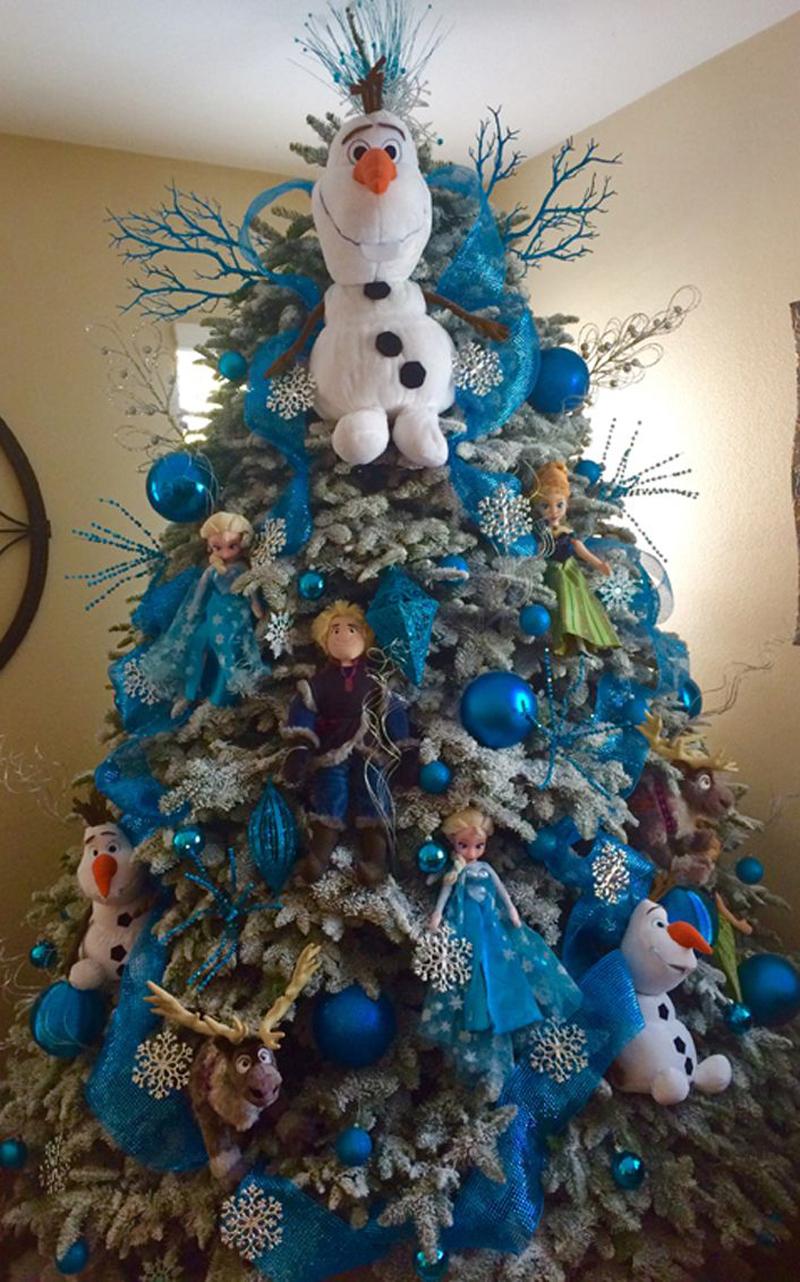 pinheiro natalino frozen
