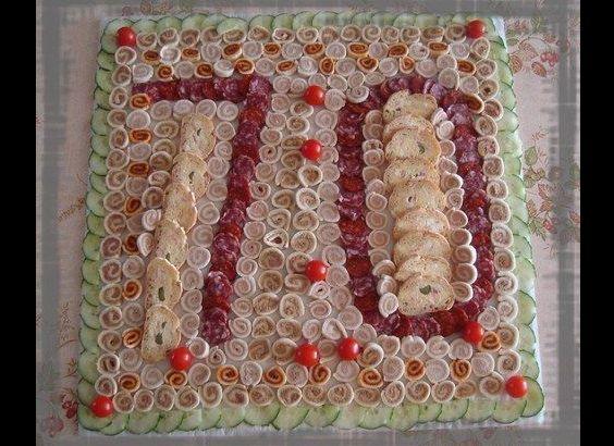 mesa de frios 70 anos