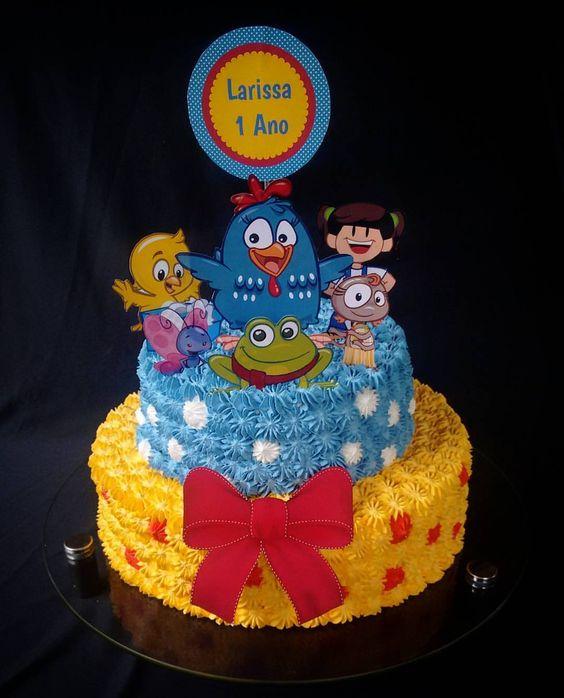 festa da Galinha Pintadinha bolo