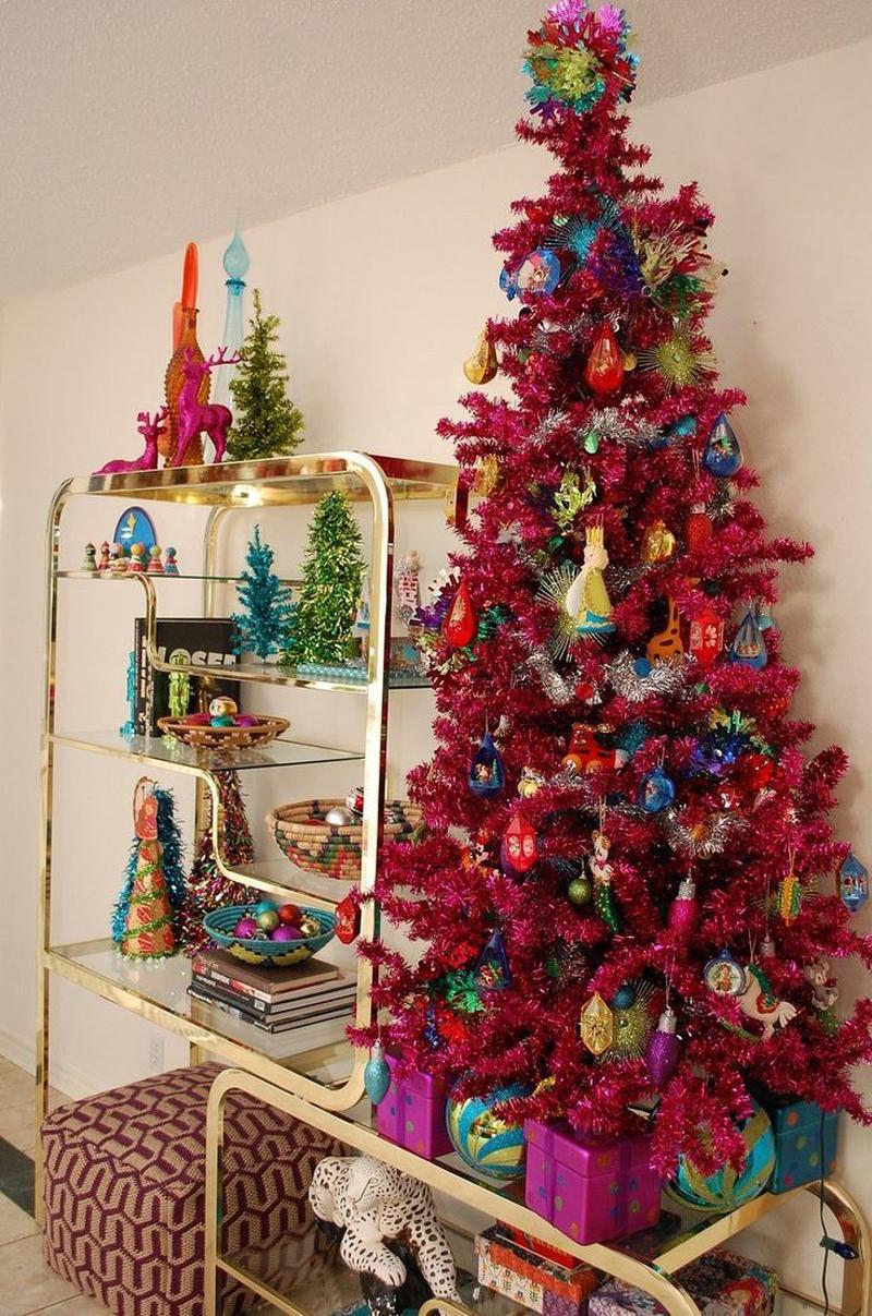 pinheiro natalino vermelho