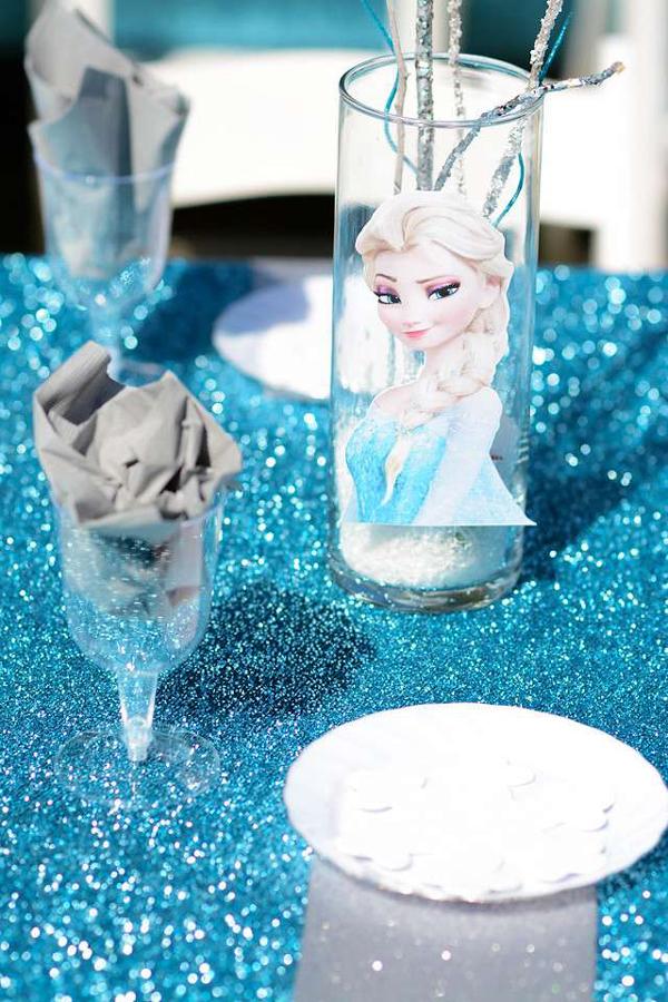festa Frozen adesivo
