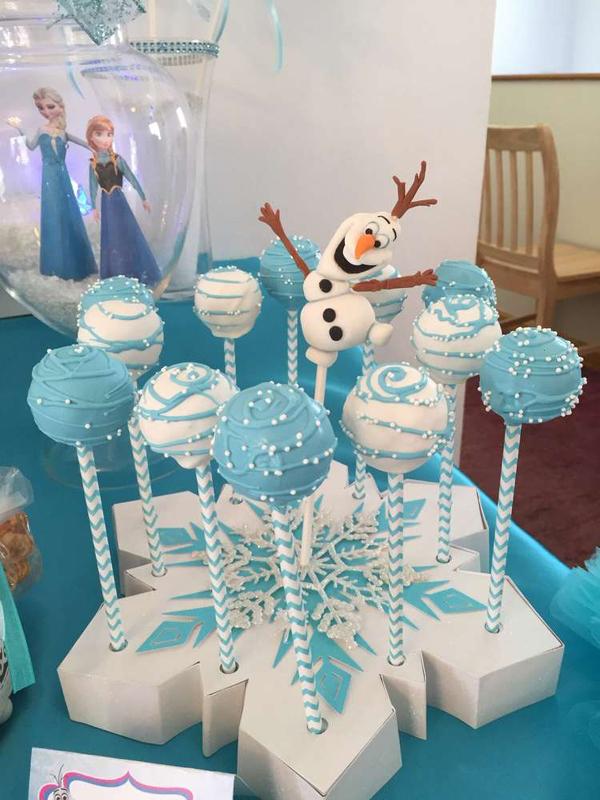 festa Frozen floco