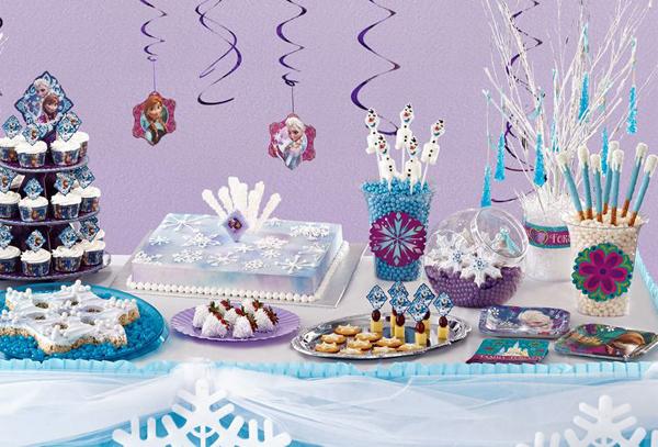 festa Frozen barata