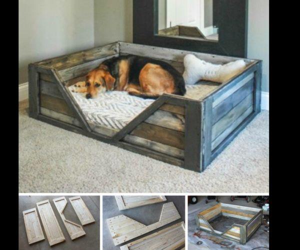 Artesanato em madeira cama
