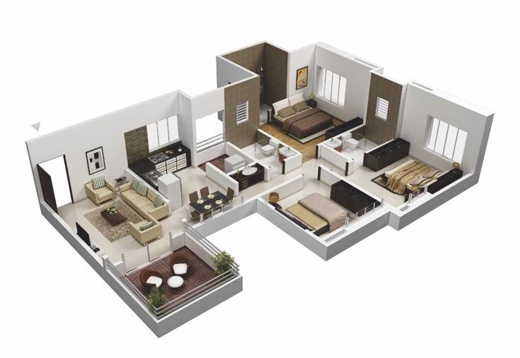 projeto de casa marrom