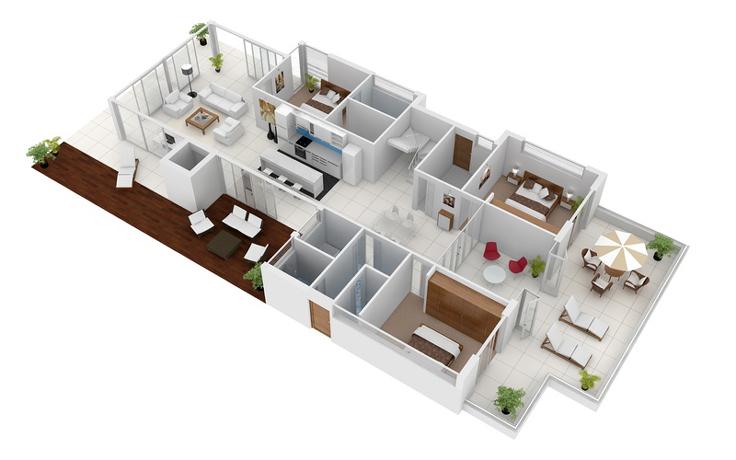 projeto de casa area de lazer