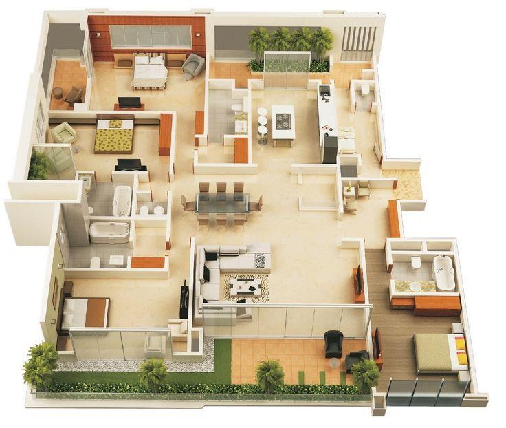 projeto de casa 3D