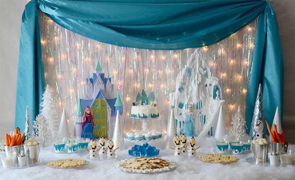 festa Frozen chique