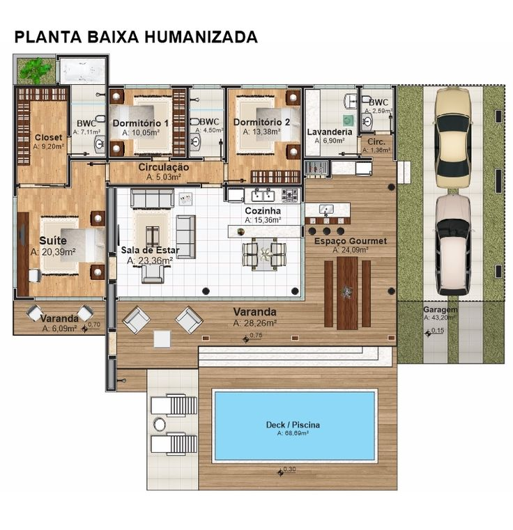 projeto de casa humanizada