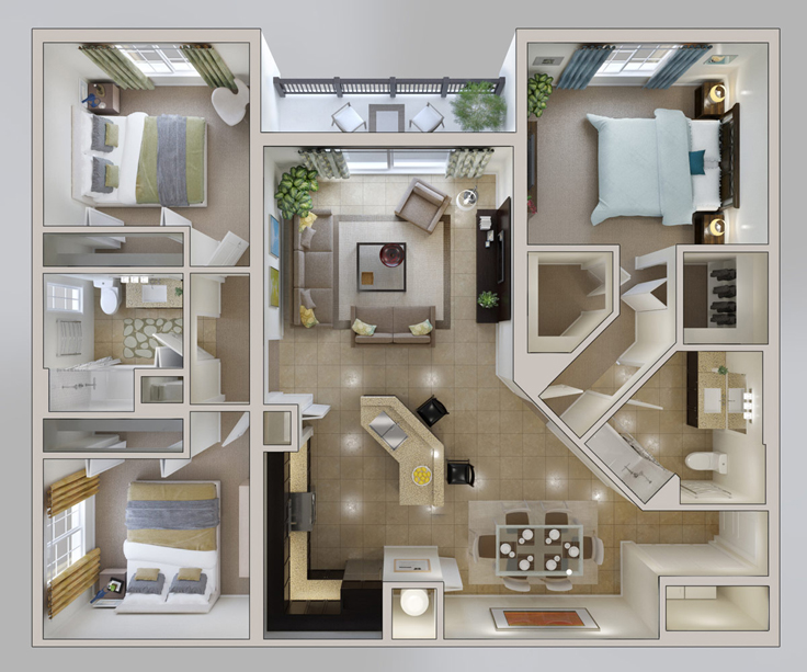 projeto de casa closet
