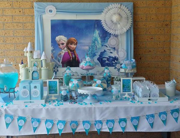 festa Frozen quadro