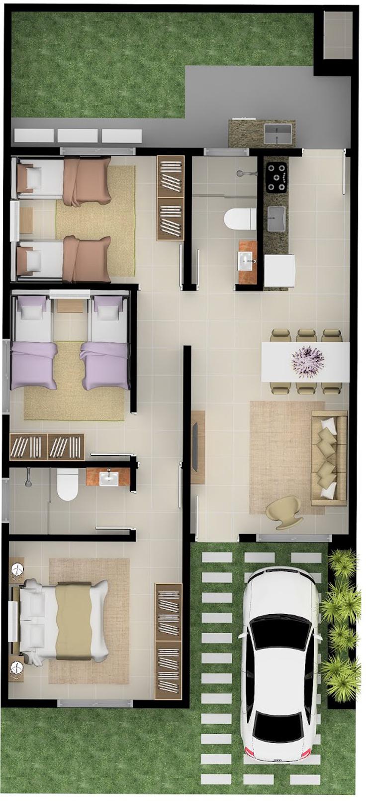 projeto de casa sala