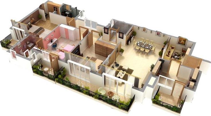 projeto de casa grade