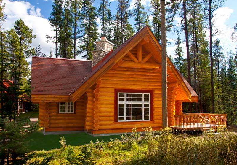 casa com madeira campo