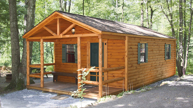 casa com madeira varanda