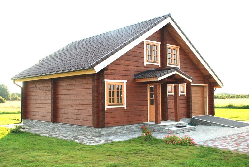casa com madeira simples