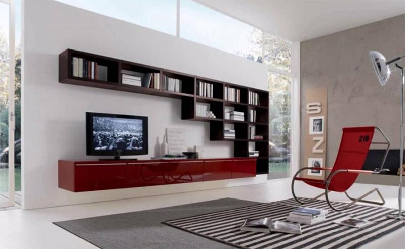 sala de tv madeira