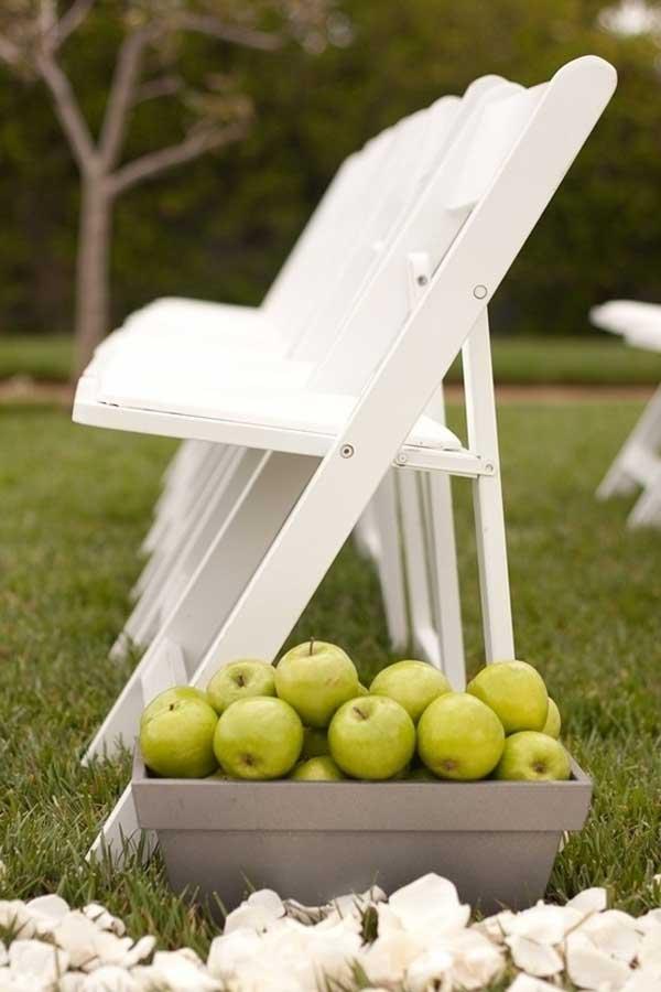 decor casamento frutas