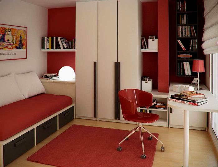 quarto de solteiro pratico