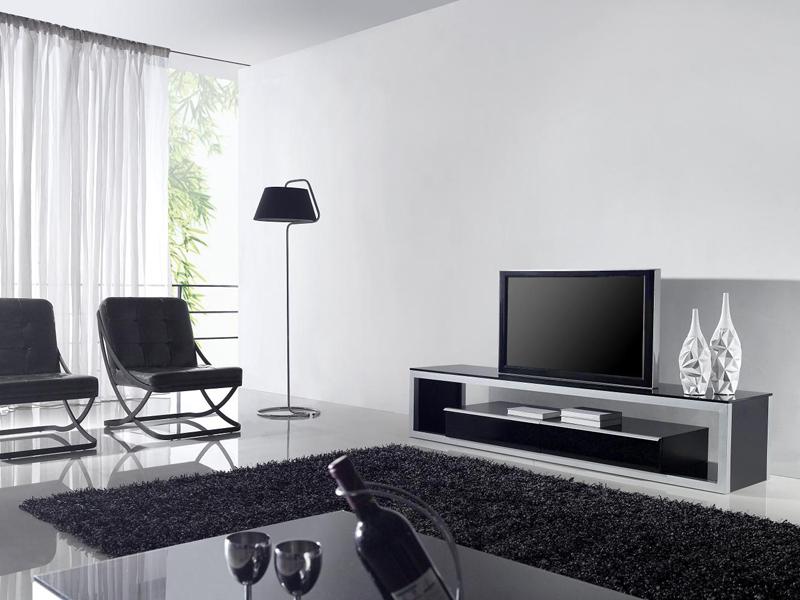 sala de tv com minimalismo