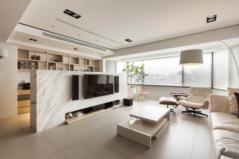 sala de tv fina